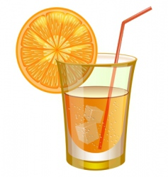 Cocktail illustration vector