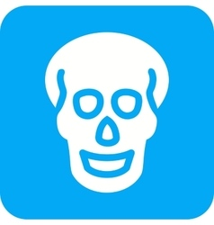 Skull x-ray vector