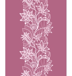Floral lace vector