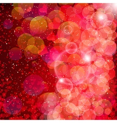 Hearts and stars background vector