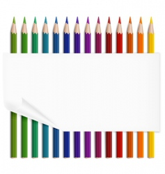 Paper amp pencils vector