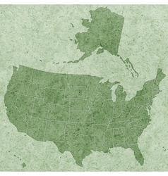 Textured usa map vector