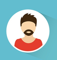 Man avatar design vector