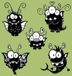 Cartoon monsters vector