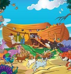 Noah ship vector
