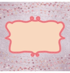 Valentine hearts card vector