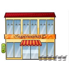 A supermarket vector