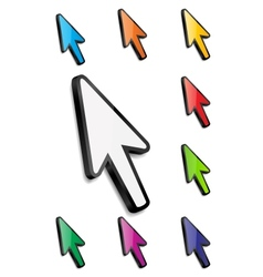 Mouse arrow cursor vector