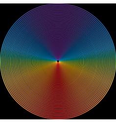 Circles design vector