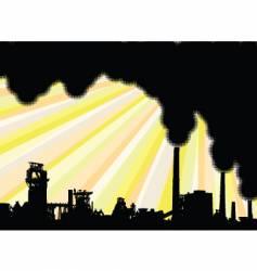 Industrial smoke vector