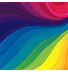 Pattern with visible spectrum colors vector