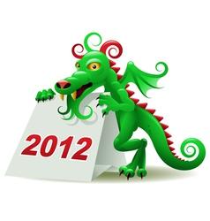 Dragon calendar vector