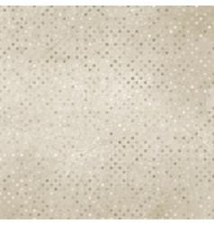 Vintage polka dot texture vector
