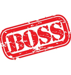 Boss stamp vector