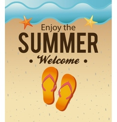 Summer vacations vector