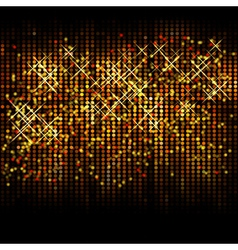 Abstract christmas glitter background vector