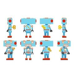 Toy robot vector