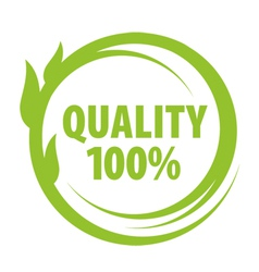 Mark of outstanding quality vector