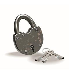 Lock and keys vector