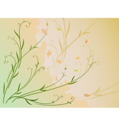 Leaf and berries vector