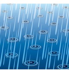 Rain drops vector