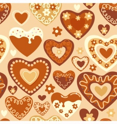 Sweet hearts vector