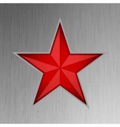 Red star design vector