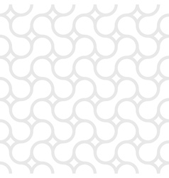 Monochrome simple pattern of gray curved lines vector