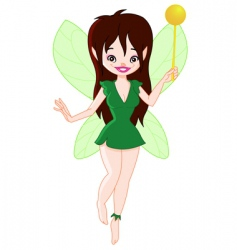 Forest fairy vector