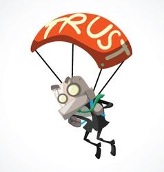 Businessman trust vector
