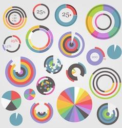 Color charts vector