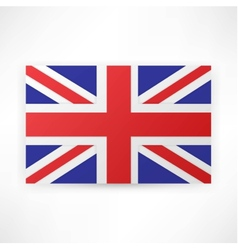 Flag london background vector