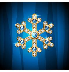 Jewel snow vector