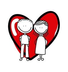 Love card design vector