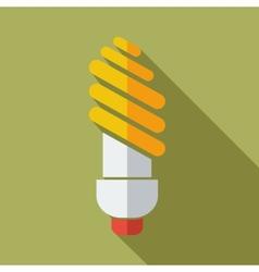 Modern flat design concept icon lamp vector