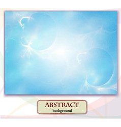 Abstract background marblefantastic landscape vector