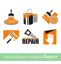 Repair symbols vector