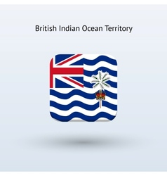 British indian ocean territory flag icon vector