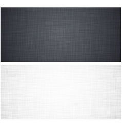 White and grey linen texture vector