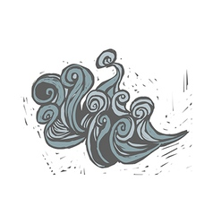 A graffiti vector