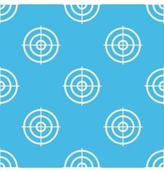 Blue aim pattern vector