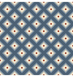 Geometric seamless pattern in retro style vector