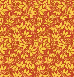 Barberry seamless pattern silhouette of berry or vector