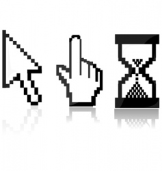 Mouse cursors vector
