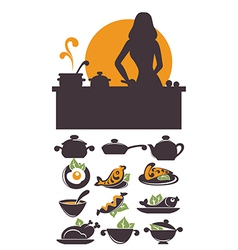 Cooking time vector