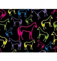 Horse seamless vector