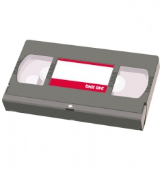 Video tape object vector