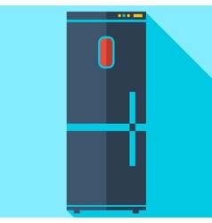Modern flat design concept icon refrigerator vector