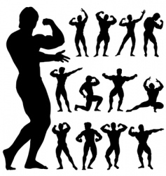 Body building vector