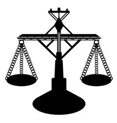 Balance figure vector